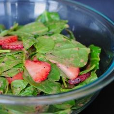 Strawberry Spinach Salad by AncestralChef