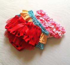 Ruffled Diaper Cover Sewing Pattern, Newborn to Two Years