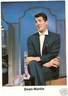 Dean Martin 1969 Rare Movie Star Card Look! from Germany