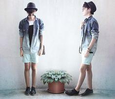 I LOVE the ombré shirt!!