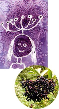 peinture végétale Hibiscus, Montessori, Animation, Recipes, Art, Plant Painting, Home Painting, Fabric Painting, Elder Flower