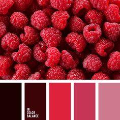 алый, бордовый, коричневый, красный, кровавый, розовый, тёмно-розовый, цвет клубники, цвет мякоти арбуза, цветовая палитра для весны, цветовое сочетание для весны.