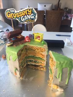 Grossery gang cake - Mandy made Hunter 4th birthday