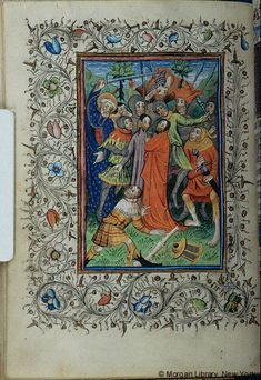 Book of Hours, MS M.46 fol. 64v - Images from Medieval and Renaissance Manuscripts - The Morgan Library & Museum