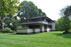 Bayer Landscape Architecture, PLLC - Landscape Rehabilitation and Preservation - Frank Lloyd Wright's BoyntonHouse