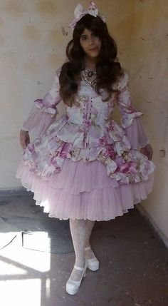 Sissy adult baby Frilly ddlg Socquettes fancydress kawaii cosplay Homme Femme