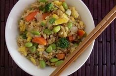 edamame fried rice 2 - From http://pinterest.com/pin/358458451561543057/