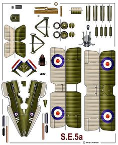 Royal Aircraft Factory S.E.5A | Tom Wigley | Flickr