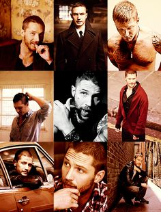 Tom hardy- I feel like he deserves more compilations. he is just so gosh darn pretty.