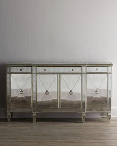 Shop Amelie Mirrored Buffet at Horchow, where you'll find new lower shipping on hundreds of home furnishings and gifts. Mirrored Furniture, Furniture Sale, Luxury Furniture, Furniture Decor, Living Room Furniture, Dining Rooms, Furniture Removal, Furniture Storage, Painted Furniture
