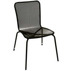 Living Accents Sling Stackable Chair Outdoor Dining