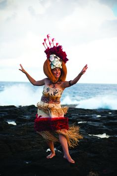 Samoan Taupo When a taupou performs a Samoan siva (dance) her eyes follow her hands and joy shows through in her smile