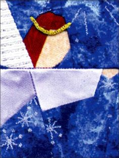 Celestial Angel Quilt Block Pattern-free membership is required
