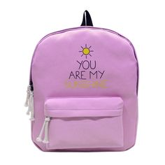 9028d3534359 Brand Canvas Women Backpack Causal Travel Bags Sunny Girl School Bags for  Teenage Girls Letter Printing backpacks mochila bolsas