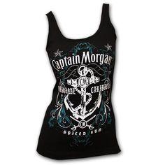 CAPTAIN MORGAN Womens Tank Top