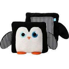 FREE SHIPPING! Poketti Plushies with a Pocket Sydney the Penguin has a plush-lined back pocket that is the perfect place to store your stuff — glasses, phone, notebook, gift cards, tooth fairy treats,