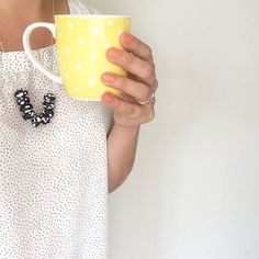 Crisp #autumn mornings call for warm cups of coffee and tea - we love how has matched her sunflower Polka Mug ($6.95) with her nails and top. Tag your favourite #freedomnz product with @freedom_nz #stylebyfreedom and we will share our favourites