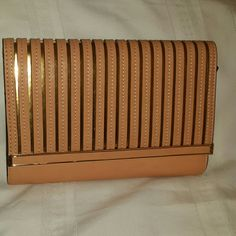 Clutch Beautiful Caramel and gold clutch Bags Clutches & Wristlets