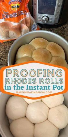 Did you know you can do a speed thaw of your frozen Rhodes rolls using the Instant Pot? It's simpler than you think, and can save quite a bit of time. We'll show you how with this helpful tutorial!