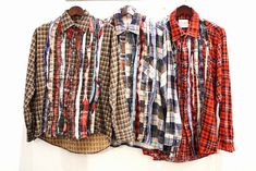 Rebuild by Needles Shirts for FW2012 - Upcycling Vintage Flannel