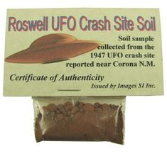 Authentic Roswell UFO Crash Site Soil: $12.95 | 72 Things That Are Definitely Better Than Oprah's 72 Favorite Things