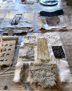 Fabric Patch, Fabric Art, Textile Fiber Art, Art Journals, Junk Journal, Mixed Media Art, Embroidery Stitches, Collaboration, Art Projects