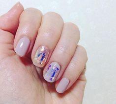 glass nail corée #manucure #glassnails #vernis #tendance #beauté