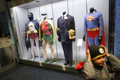 The Cinerama's lobby includes a selection of movie costumes from Paul Allen's collection, changing every nine months.