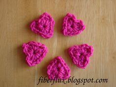 Tiny One Round Hearts! (Free Pattern)