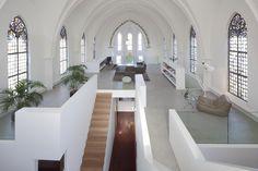 Un appartement dans une église à Utrecht, aux Pays-Bas | Décoration maison, meubles maison jardin et design intérieur sur Artdco.net
