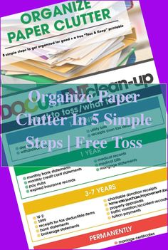 How long can it get you to find a particular bill, receipt, or document from the desk? Can you find what you're looking for without turning over each ... Home Office Organization, Paper Organization, Organizing Your Home, Office Files, Office Desk, Office Filing System, Agenda Book, To Do Checklist, Clutter Free Home