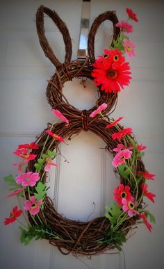 Bunny Wreath by tisi5170