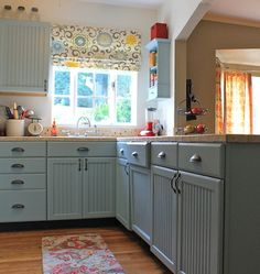 Dream It, Do It: DIY Kitchen Makeover  Unless you're using a sprayer, remove only a few cabinet doors at a time. It's much easier to tackle the project in sections.""