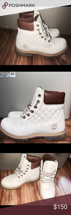 Timberland women size 8 Limited edition. Tried on once ordered online and they were too big. Basically brand new Timberland Shoes Winter & Rain Boots