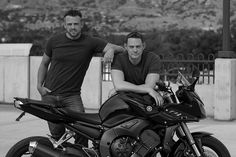 Chelsea Park Photography: Brothers - Motorcycle - Portrait Photography