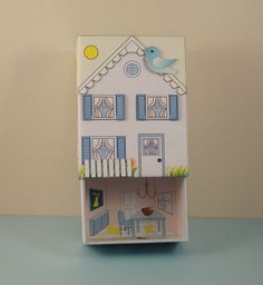 Match Box House Number 10 House C. by PaperCottagePrinties on EtsyFind the Match Box for .20 cents