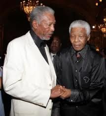 Mandela & Morgan Freeman