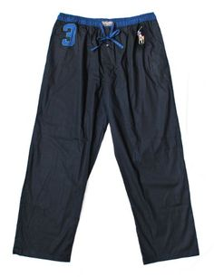 Polo Ralph Lauren Men`s Big Pony Woven Lounge Pajama Pants