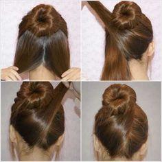 Enjoyable Updo Thick Hair And My Hair On Pinterest Short Hairstyles For Black Women Fulllsitofus