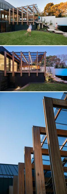 Toile fixe tendu résistant mieux aux vents Patio Pinterest - toile tendue pour terrasse