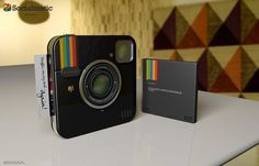 Amazing news! The Instagram Socialmatic concept camera is going to become a reality!   do I want this?