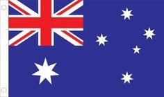 "Allied Flag Outdoor Nylon Australia Country Flag, 3-Feet by 5-Feet by Allied Flag. Save 15 Off!. $30.21. 100-percent heavyweight nylon. Reinforced fly hem and two sturdy brass grommets. Made in the USA. Durable and long lasting. Outdoor Nylon Australia 3-foot by 5-foot Flag. Each U.N. member flag illustrated is the ""government"" flag, used by that nation's government and displayed at U.N. headquarters in New York."