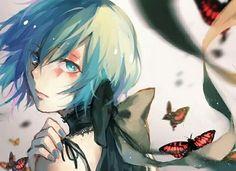 Touka from Tokyo Ghoul Kaneki Y Touka, Juuzou Suzuya, Super Anime, Another Anime, Joker, Beautiful Anime Girl, Anime Artwork, Cute Anime Couples, Butterfly Effect