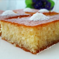 Turkish Recipes, Ethnic Recipes, Greek Desserts, Pound Cake, Cornbread, Vanilla Cake, Catering, Cheesecake, Deserts