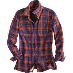 Women's Free Swingin' Flannel Shirt- Duluth Trading Co