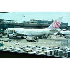 行きの飛行機✈️ #成田 #China_Airlines #中華航空 #飛行機 #Airplane #台湾