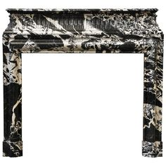 Antique Louis XIV Style Fireplace in Extraordinary Grand Antique Marble | From a unique collection of antique and modern fireplaces and mantels at http://www.1stdibs.com/furniture/building-garden/fireplaces-mantels/