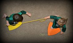 Rope Balance Game for Kids