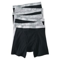 Fruit of the Loom Men's Boxer Briefs 7Pack - Black/Grey XL (885306024307) Feel comfy all day long in these boxer briefs from fruit of the loom. They're made of 100% cotton in a durable, multi-panel construction. The reinforced leg bands in these cotton boxer briefs offer a custom fit. Their waistbands are plush-backed to provide extra comfort. Machine wash and tumble dry. Available in packs of 7.
