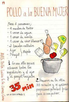 Chicken the Good Woman - Pollo - Recetas Kitchen Recipes, My Recipes, Mexican Food Recipes, Cooking Recipes, Favorite Recipes, Good Woman, Easy Sesame Chicken, Comida Diy, Venezuelan Food